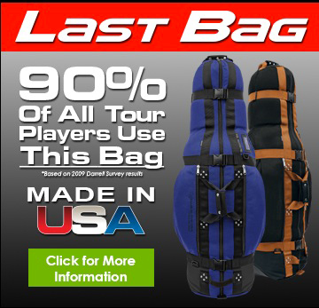 last bag golf travel bag by club glove