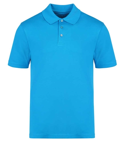 Bugatchi pima cotton men's short sleeve polo shirt