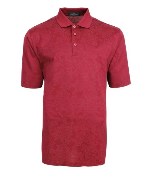 bugatchi mercerized polo shirt