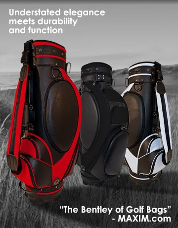 luxury custom cart golf bag