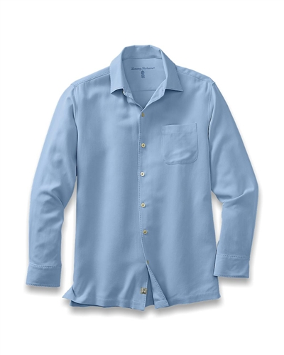 Custom Logo Tommy Bahama Shirts Catalina Twill Shirt