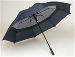 "BEST 68"" golf umbrella navy"