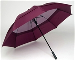 68 inch golf umbrella burgundy